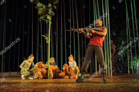Editorial photo of 'Running Wild' play, Regent's Park Open Air Theatre, London, Britain - 18 May 2016