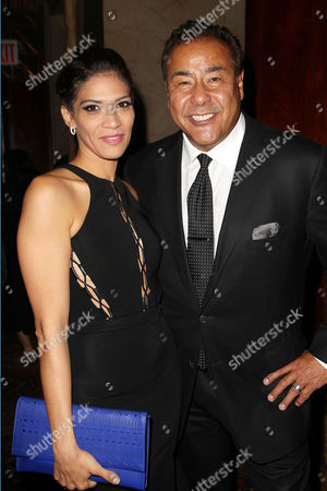 Laura Gomez and John Quinones