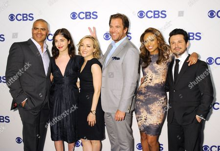 Michael Weatherly, Jaime Lee Kirchner and Freddy Rodriguez