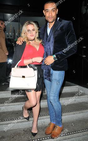 Nadia Essex and Scott Saunders