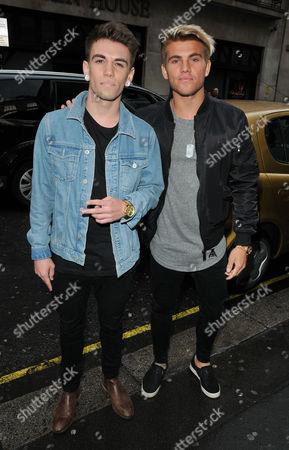 Jake Sims and Jordi Whitworth