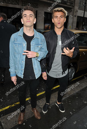 Stock Picture of Jake Sims and Jordi Whitworth