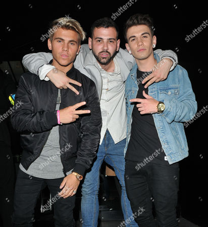 Jordi Whitworth, Jay Camilleri and Jake Sims