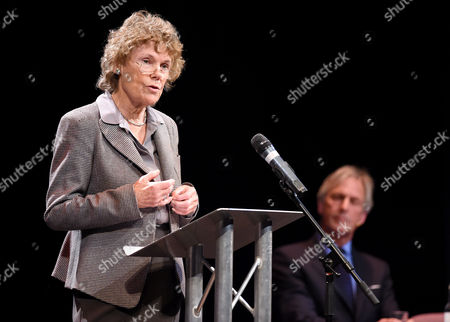 Pro Brexit campaign debate, Richard Drax MP and Kate Hoey MP,left