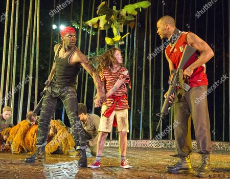 Editorial picture of 'Running Wild' Play performed at the Open Air Theatre, Regent's Park, London, UK, 19 May 2016