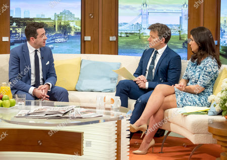 Stock Picture of Paul Charles, Ben Shephard and Susanna Reid