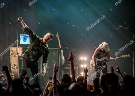 Editorial photo of Filter concert at Brooklyn Bowl, Las Vegas, America - 18 May 2016