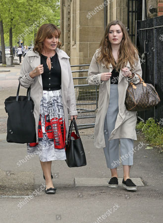Lorraine Kelly and Rosie Smith
