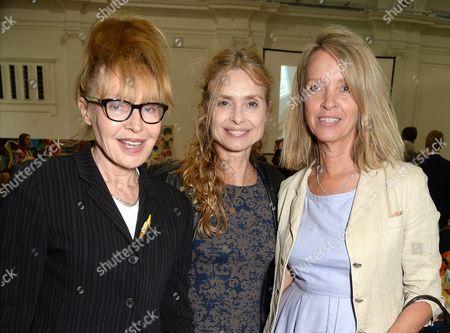 Lyndall Hobbs, Maryam d'Abo and Sabrina Guinness