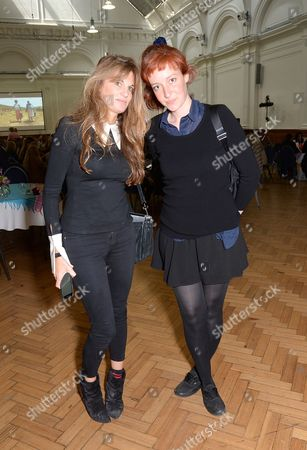Jemima Goldsmith and Kate Goldsmith