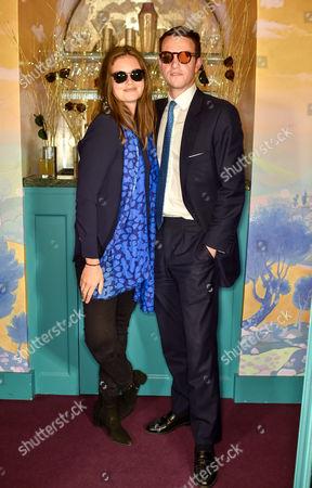 Natasha Rufus Isaacs and Julian Erleigh