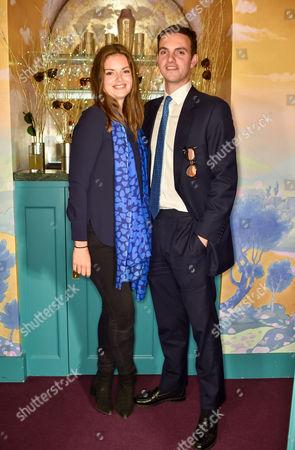 Stock Photo of Natasha Rufus Isaacs and Julian Erleigh