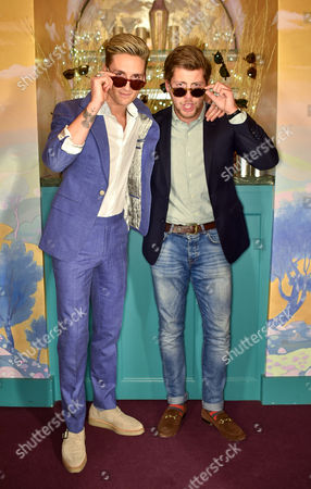 Oliver Proudlock and Stevie Johnson