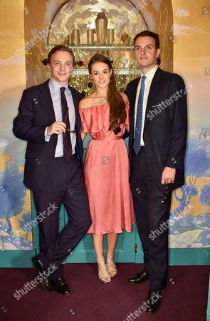 Charlie Astor, Beatriz Callaghan and Julian Erleigh