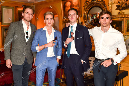 Stock Picture of Leo Maduro-Vollmer, Oliver Proudlock, Julian Erleigh and Jose Martinez-Artiles