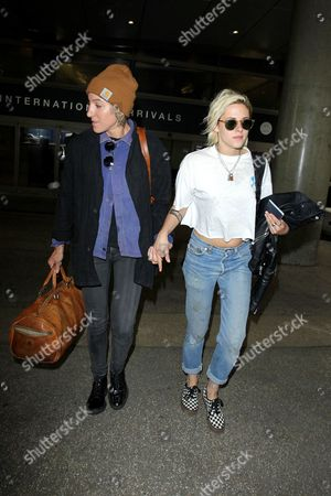 Alicia Cargile and Kristen Stewart