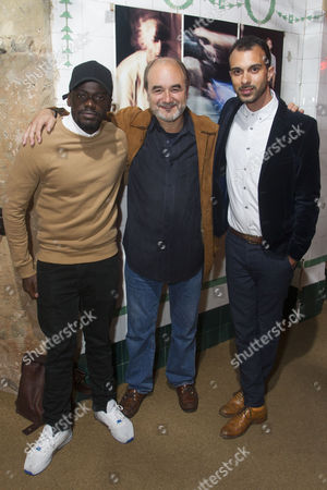 Editorial image of 'Blue/Orange' play, After Party, London, Britain - 19 May 2016