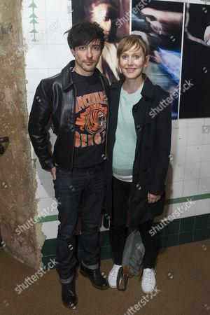 Blake Ritson and Hattie Morahan