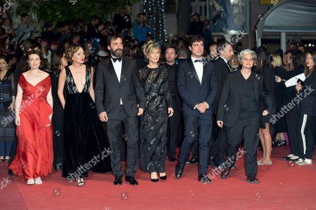 Valeria Golino, Stefano Mordini, Riccardo Scamarcio, Viola Prestieri and Marina Fois