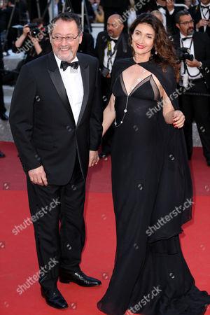 Jean Reno and Zofia Borucka