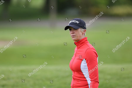 Georgie Bingham during the The ISPS HANDA Mike Tindall Celebrity Golf Classic 2016 played at The Belfry Golf Course, Sutton Coldfield, on May 20th 2016