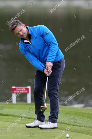 Rory Lawson during the The ISPS HANDA Mike Tindall Celebrity Golf Classic 2016 played at The Belfry Golf Course, Sutton Coldfield, on May 20th 2016