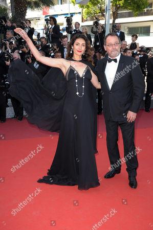 Zofia Borucka and Jean Reno