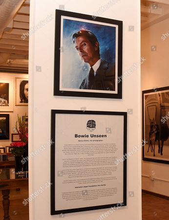 Editorial picture of Markus Klinko Presents 'Bowie Unseen' Exhibition, Los Angeles, America - 19 May 2016