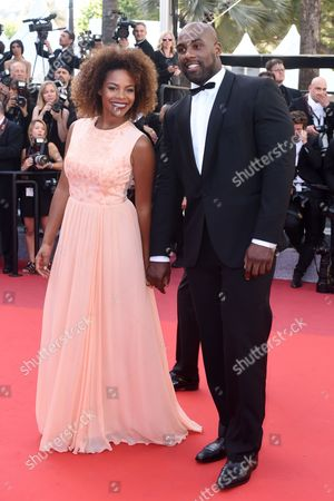 Teddy Riner and Luthna Plocus