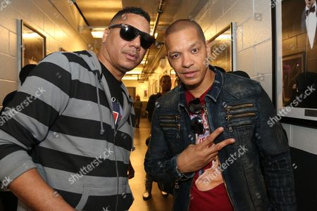 Stock Image of Rich Dollaz, Peter Gunz