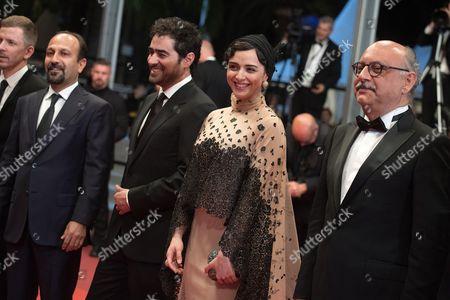 Babak Karimi, Taraneh Alidoosti and Asghar Farhadi