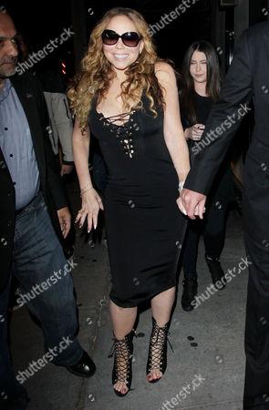 Stock Photo of Mariah Carey, James Packer