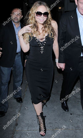 Stock Picture of Mariah Carey, James Packer