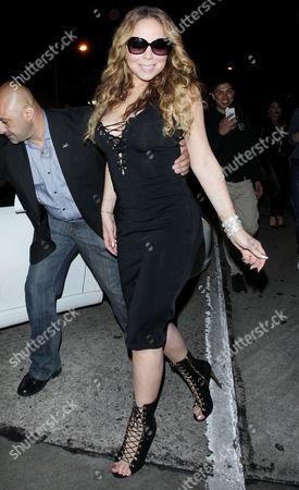Stock Image of Mariah Carey, James Packer