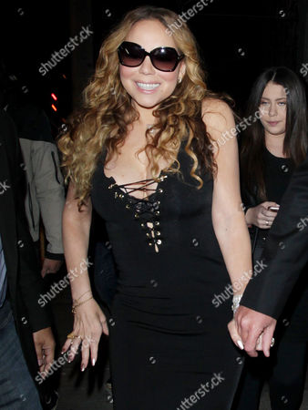 Editorial picture of Mariah Carey and James Packer out and about, Los Angeles, America - 21 May 2016