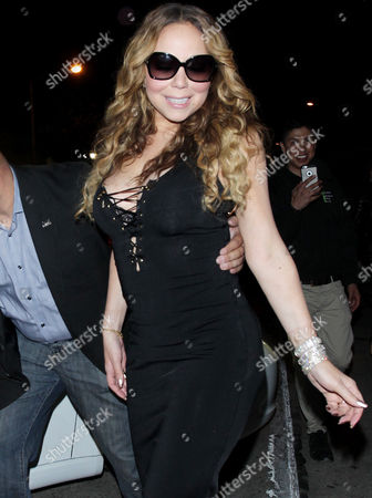 Editorial photo of Mariah Carey and James Packer out and about, Los Angeles, America - 21 May 2016