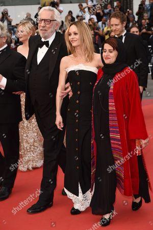 Donald Sutherland, Vanessa Paradis and Katayoon Shahabi