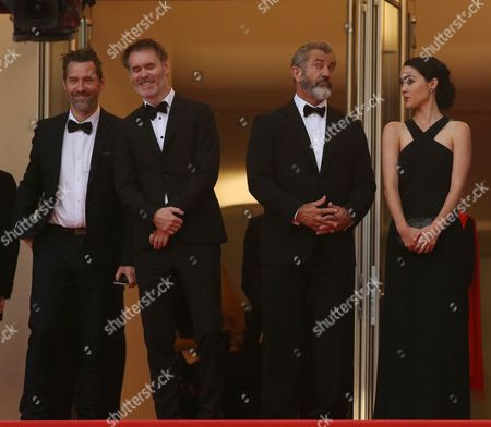 Jean-Francois Richet, Mel Gibson and Rosalind Ross