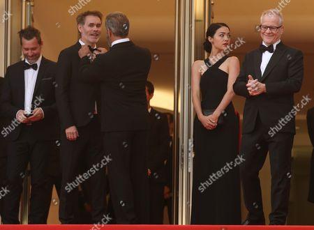 Jean-Francois Richet and Mel Gibson