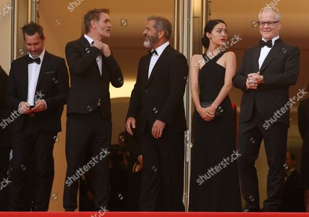 Editorial picture of Palme D'Or Award and Closing Ceremony, 69th Cannes Film Festival, France - 22 May 2016