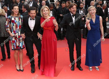 Stock Photo of Celine Sallette, Diego Luna, Marthe Keller, Ruban Ostlund and Jessica Hausner