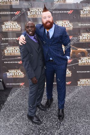 Gary Anthony Williams and Sheamus