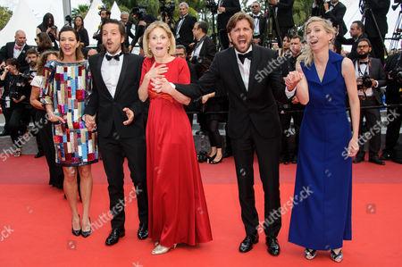 Stock Picture of Celine Sallette, Diego Luna, Marthe Keller, Ruban Ostlund, Jessica Hausner