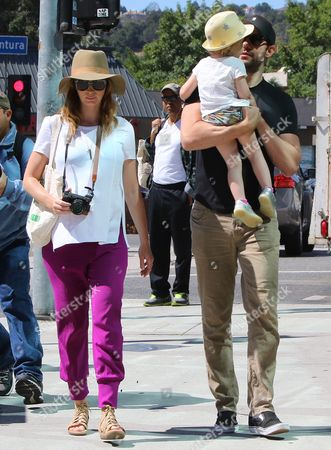 Editorial picture of Emily Blunt and John Krasinski out and about, Los Angeles, America - 22 May 2016