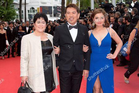 Andi Eigenmann, Brillante Ma Mendoza and Jaclyn Jose