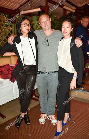 Mimi Xu, Juergen Teller and Rosey Chan