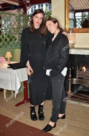 Lou Stoppard and Tallulah Harlech