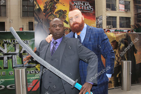 "Gary Anthony Williams and Stephen "" Sheamus "" Farrelly"