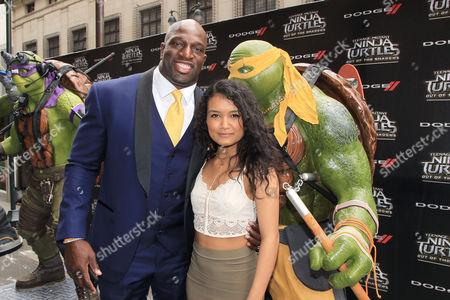 Titus O'Neil and Jamila Velazquez
