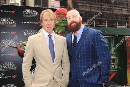 "Michael Bay and Stephen "" Sheamus "" Farrelly"